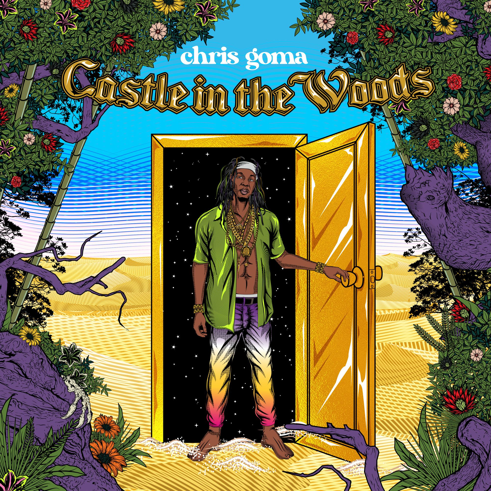 "Chris Goma releases debut album ""Castle In The Woods"""
